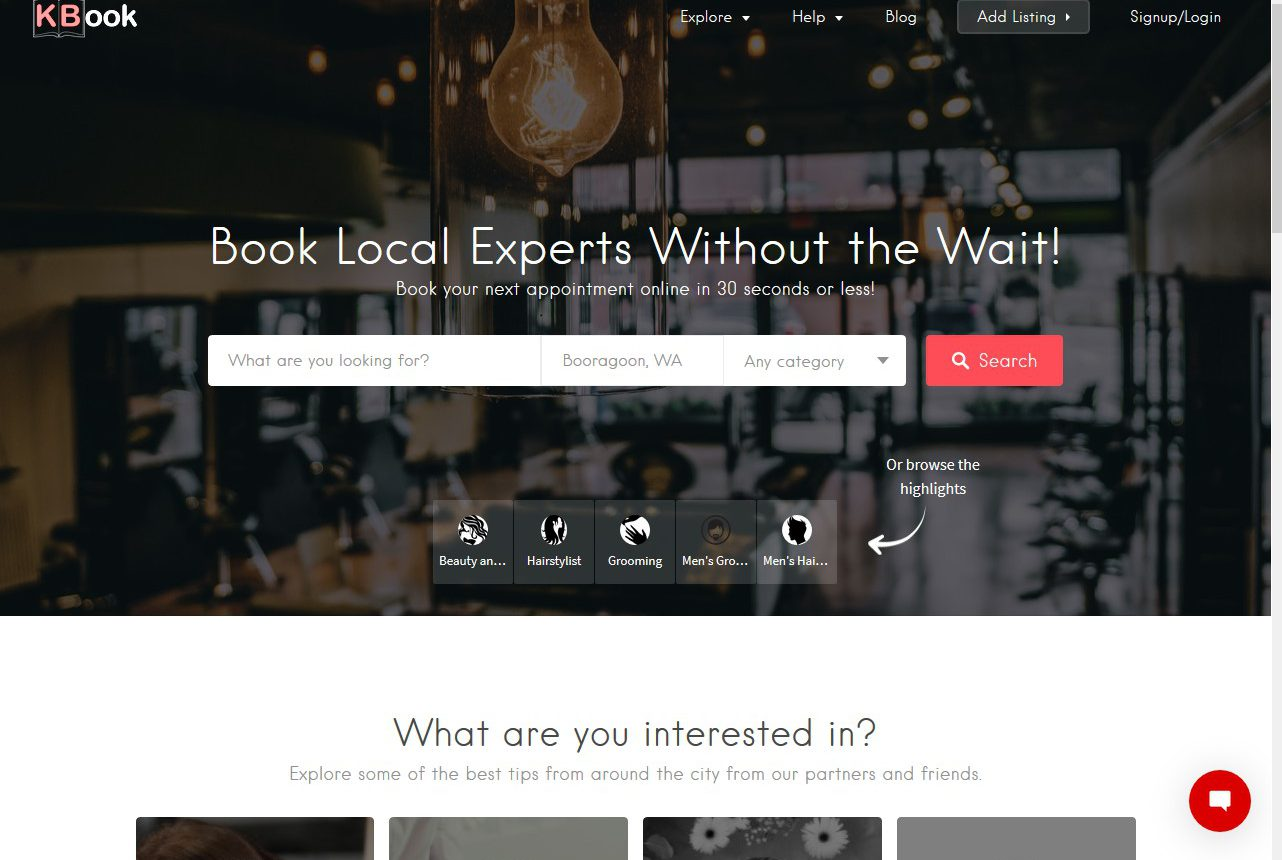 KBook1 - Home Page