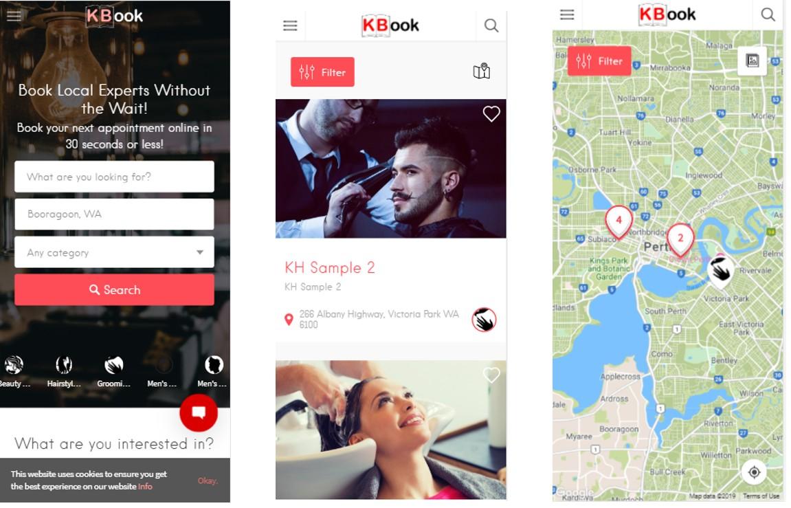 KBook – A Booking Website